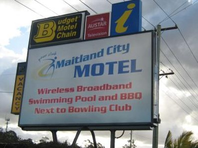 Maitland City Motel - Accommodation Nelson Bay