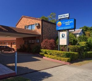 Airport Admiralty Motel - Accommodation Nelson Bay