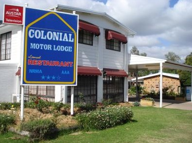 Colonial Motor Lodge - Accommodation Nelson Bay