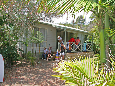One Mile Beach Holiday Park - Accommodation Nelson Bay
