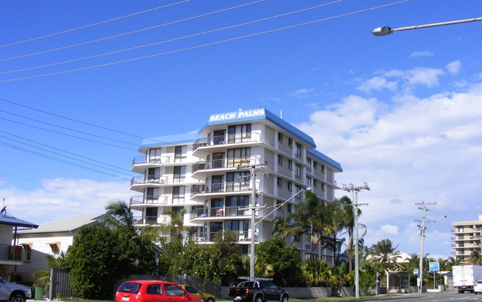 Beach Palms Holiday Apartments - Accommodation Nelson Bay