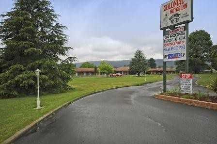 Colonial Motor Inn - Lithgow - Accommodation Nelson Bay