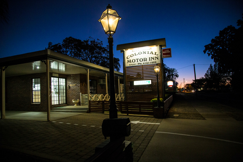 Gayndah Colonial Motor Inn - Accommodation Nelson Bay