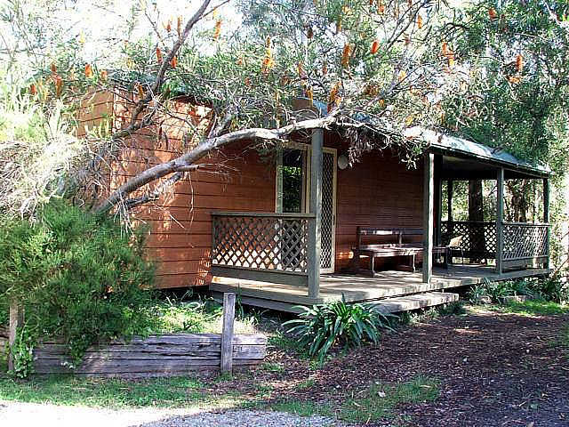 Jervis Bay Cabins  Hidden Creek Real Camping - Accommodation Nelson Bay