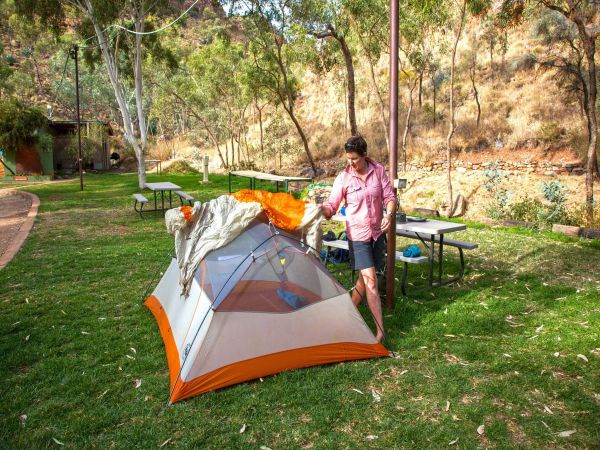 Standley Chasm Angkerle Camping - Accommodation Nelson Bay
