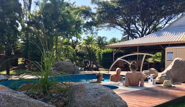 Bush Oasis Caravan Park - Accommodation Nelson Bay