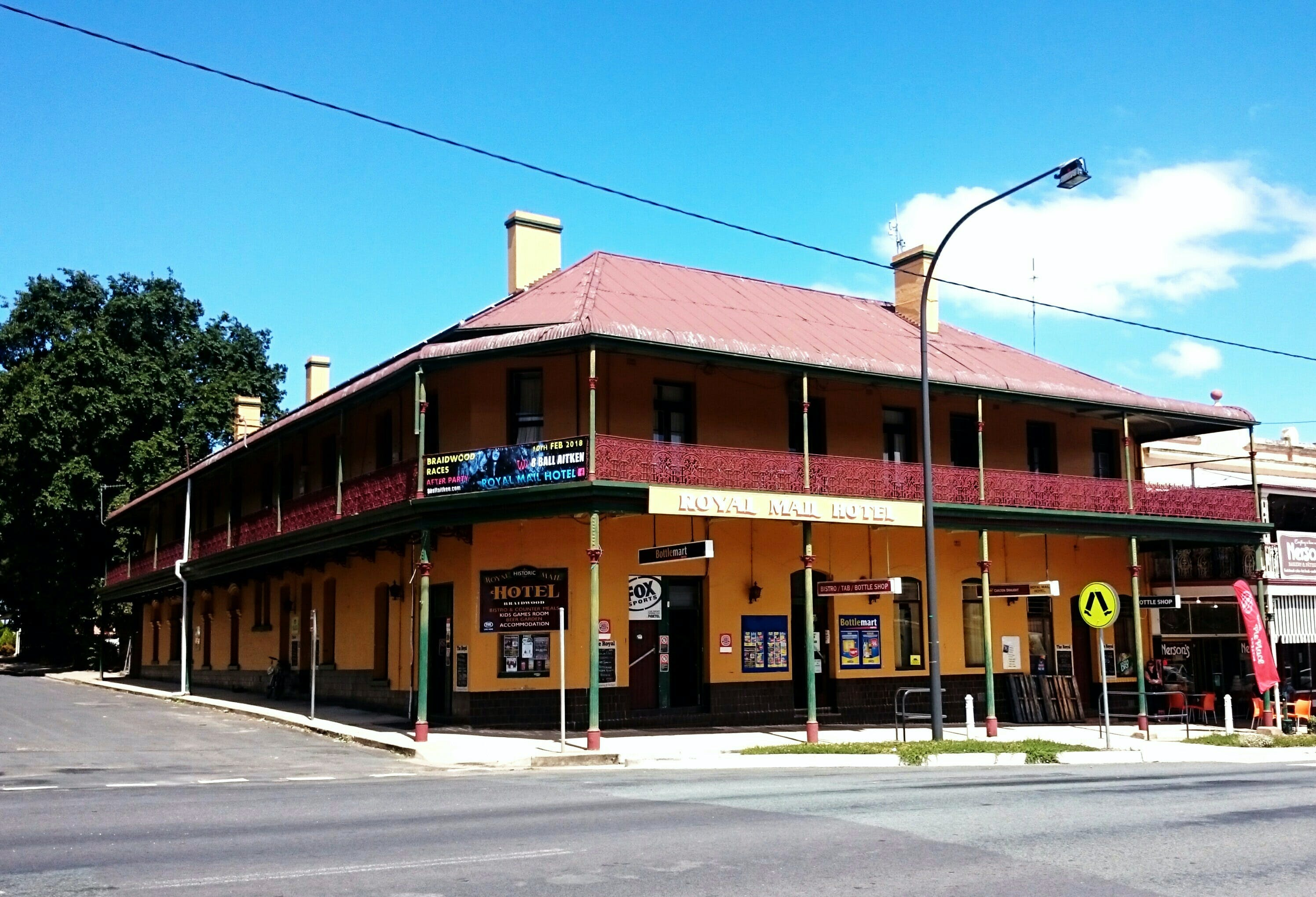 Royal Mail Hotel Braidwood - Accommodation Nelson Bay