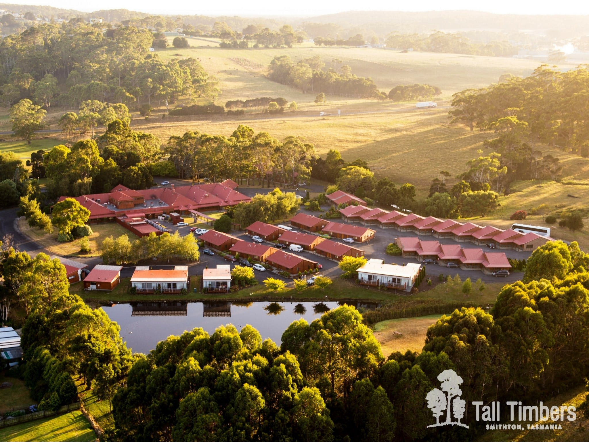 Tall Timbers Tasmania - Accommodation Nelson Bay