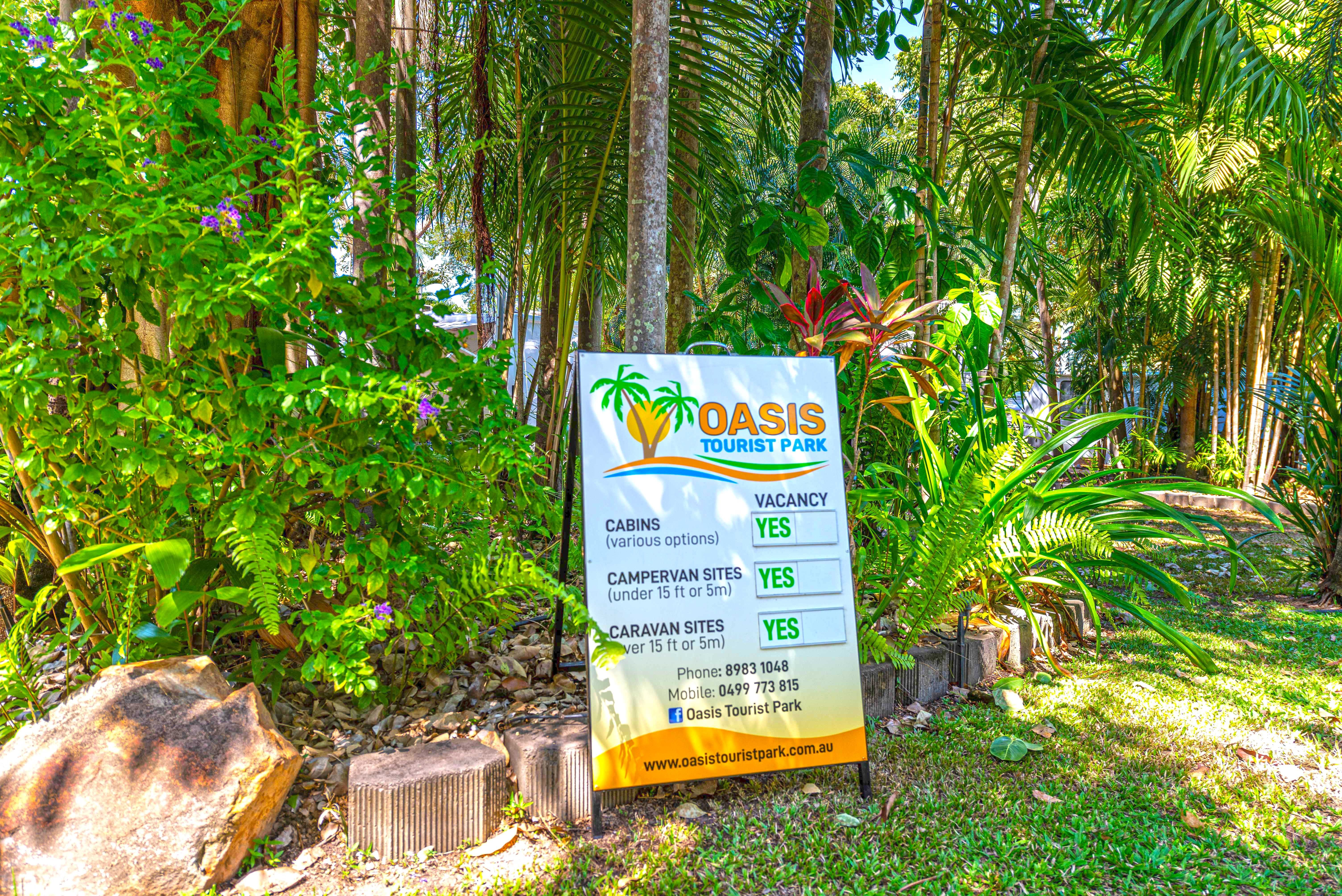 Oasis Tourist Park - Accommodation Nelson Bay
