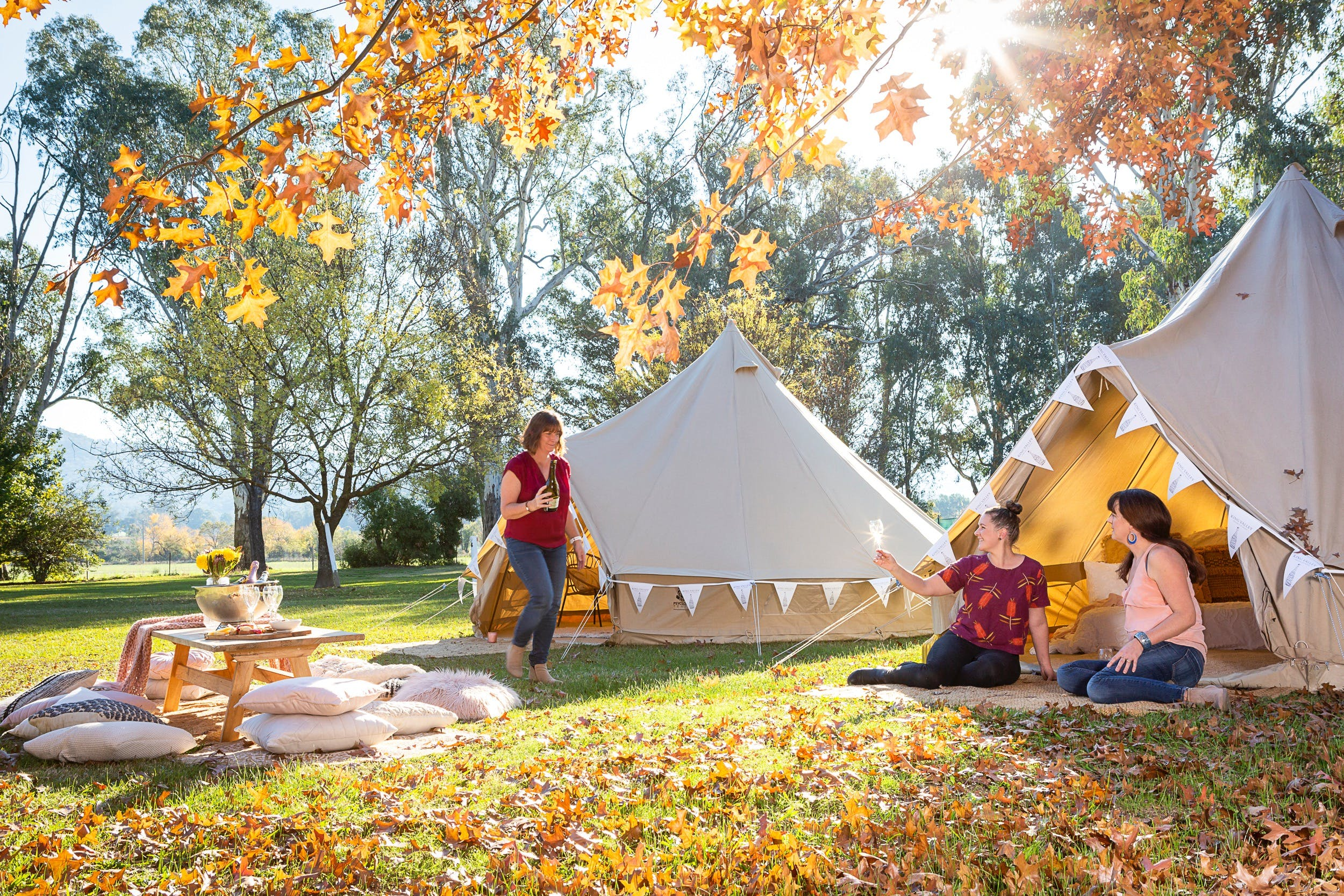 Valley View Glamping - Accommodation Nelson Bay