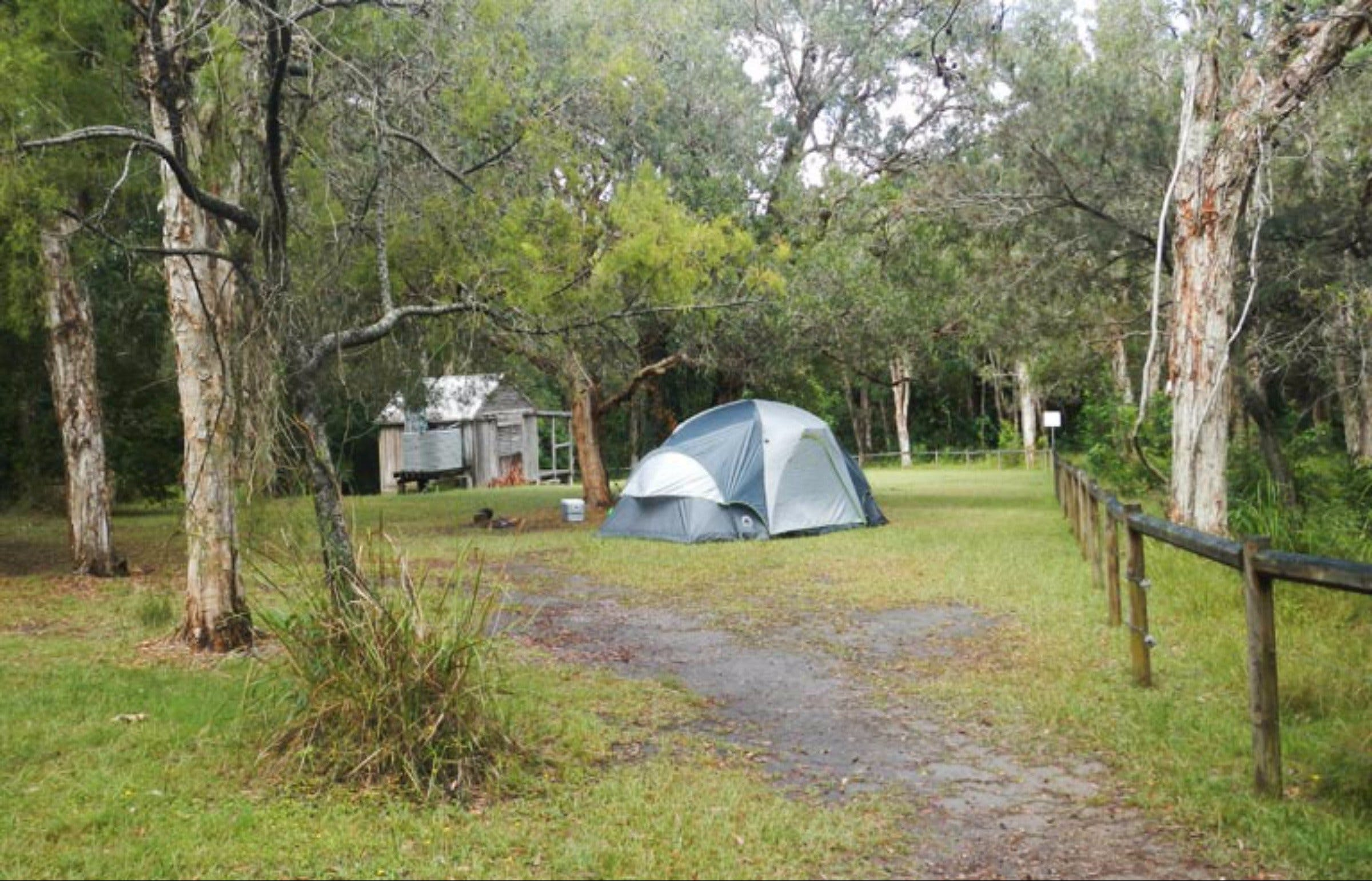 Kylies Hut walk-in campground - Accommodation Nelson Bay