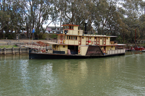 Emmylou Paddle Steamer - Accommodation Nelson Bay