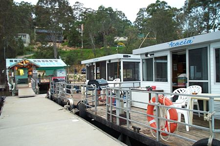 Clyde River Houseboats - Accommodation Nelson Bay