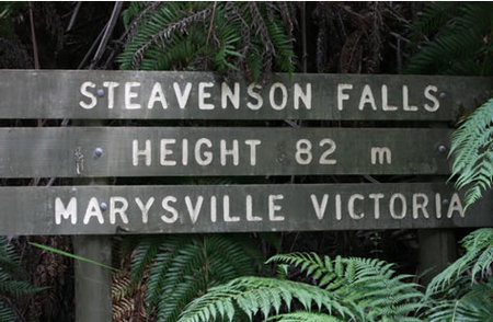 Stevensons Falls - Accommodation Nelson Bay