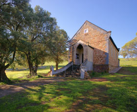 St Saviours Church Katrine - Accommodation Nelson Bay
