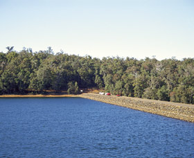 Waroona Dam - Accommodation Nelson Bay