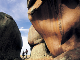 Murphy's Haystacks - Ancient Granite Rock - Accommodation Nelson Bay