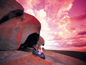 Remarkable Rocks Flinders Chase National Park - Accommodation Nelson Bay