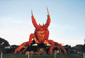 The Big Lobster - Accommodation Nelson Bay