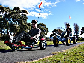 Pedal Buggies Tasmania - Accommodation Nelson Bay