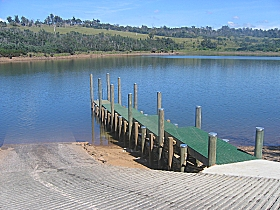 Trevallyn Dam - Accommodation Nelson Bay