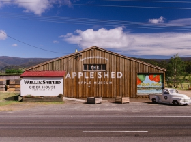 The Apple Shed Tasmania - Accommodation Nelson Bay