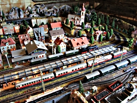 Tudor Court Model Village and German Model Train World - Accommodation Nelson Bay