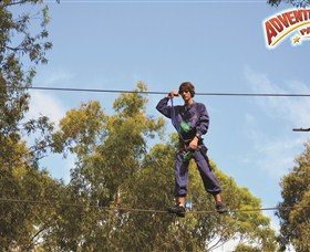 Adventure Parc at Currumbin Wildlife Sanctuary - Accommodation Nelson Bay