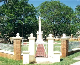 Boonah War Memorial and Memorial Park - Accommodation Nelson Bay