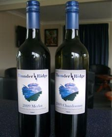 Thunder Ridge Wines - Accommodation Nelson Bay