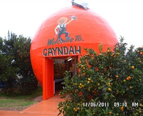 Gayndahs Big Orange - Accommodation Nelson Bay