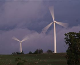Crookwell Wind Farm - Accommodation Nelson Bay