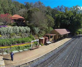 Spring Bluff Railway Station - Accommodation Nelson Bay