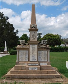 Boer War Memorial and Park Allora - Accommodation Nelson Bay