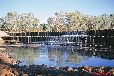 Allan Tannock Weir - Accommodation Nelson Bay