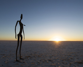 Inside Australia - Antony Gormley Sculptures - Accommodation Nelson Bay