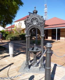 Witcombe Fountain - Accommodation Nelson Bay