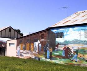Mendooran Mural Town - Accommodation Nelson Bay
