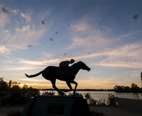 Black Caviar Statue - Accommodation Nelson Bay