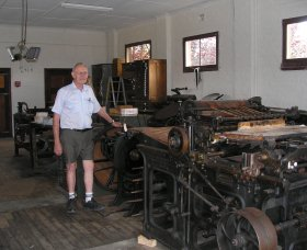 Henty Observer Printing Museum - Accommodation Nelson Bay