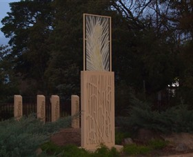 Milestones Sculptures in Cootamundra - Accommodation Nelson Bay