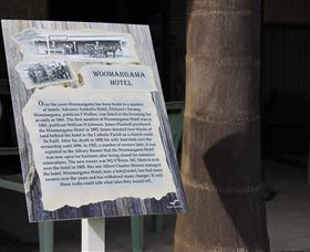 Woomargama Heritage Signs - Accommodation Nelson Bay