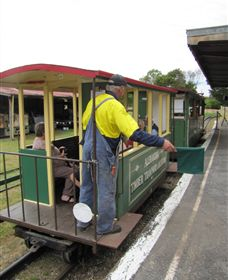 Alexandra Timber Tramway - Accommodation Nelson Bay