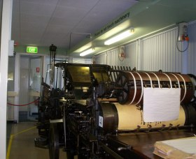 Queanbeyan Printing Museum - Accommodation Nelson Bay