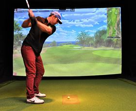 Par-Tee Virtual Golf - Accommodation Nelson Bay
