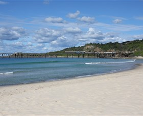 Catherine Hill Bay Beach - Accommodation Nelson Bay