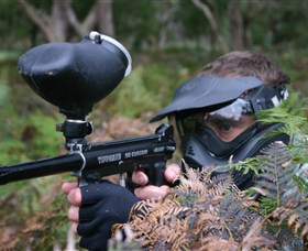 Tactical Paintball Games - Accommodation Nelson Bay