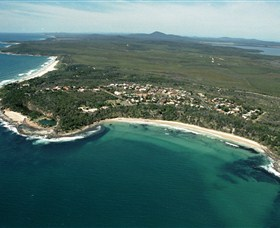 Angourie Beach - Accommodation Nelson Bay