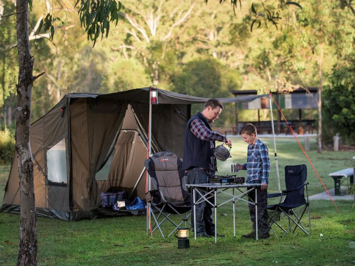 Hardings Paddock Campground - Accommodation Nelson Bay