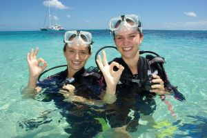 Ocean Spirit Michaelmas Cay Dive and Snorkel Cruise from Palm Cove - Accommodation Nelson Bay